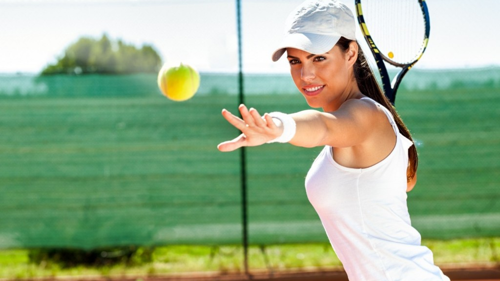 tennis-ball-racket-woman