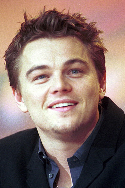 "Leonardo Di Caprio At Premiere Of ""The Beach"" At Berlin Film Festival In Berlin, Germany On February 12, 2000-"