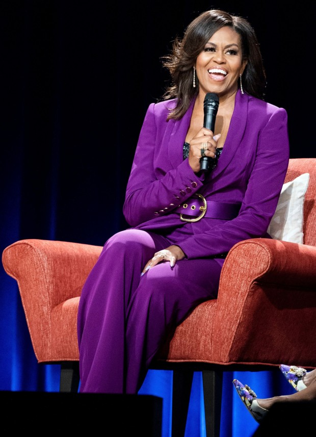 """""""Becoming: An Intimate Conversation with Michelle Obama"""" - , Atlanta, USA - 11 May 2019"""